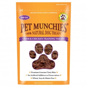 Pet Munchies Liver & Chicken Training Treats 50gm