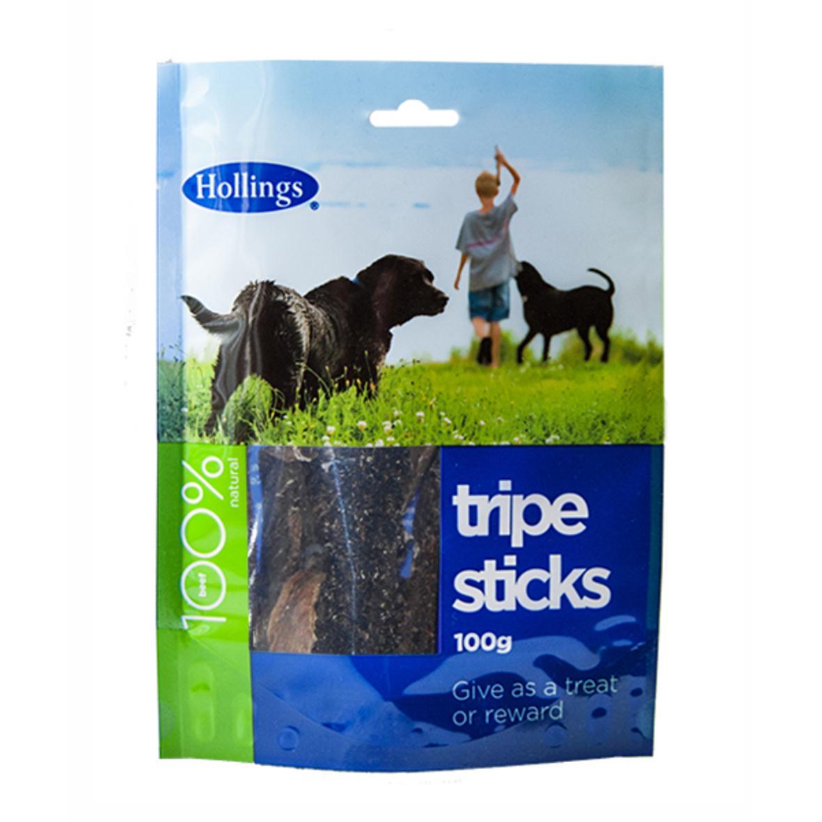 Hollings Tripe Sticks 100gm