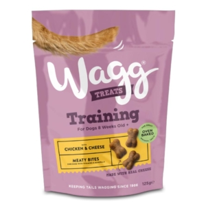 Wagg Training Treats with Chicken and Cheese NEW