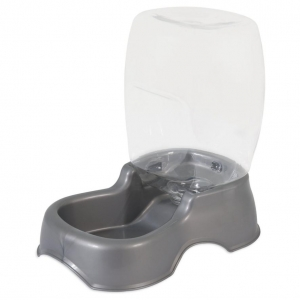 Petmate Cafe Waterer Silver