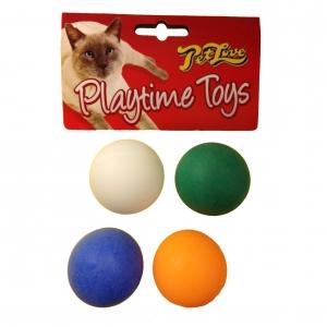 PetLove Ping Pong Balls 4pcs