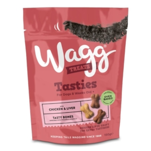 Wagg Tasties Tasty Bones 150gm NEW