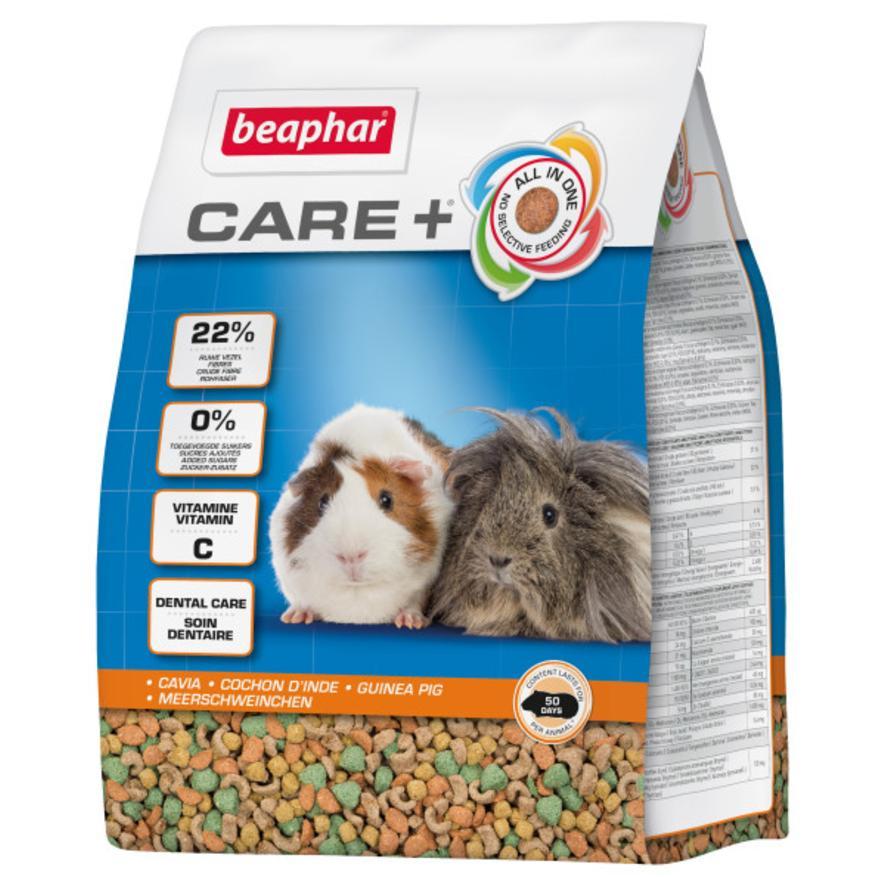 CLEARANCE BEAPHAR Care + Guinea Pig Food 1.5kg