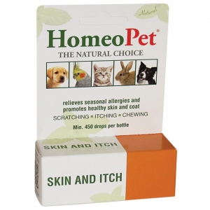 Homeopet Skin and Itch Drops