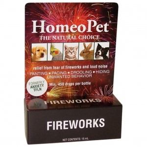 Homeopet Fireworks Drops Anxiety TFLN 15ml