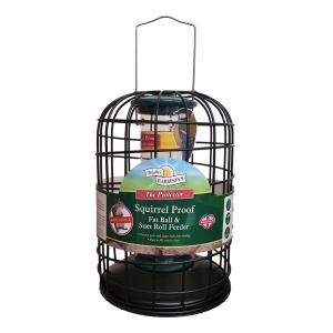 Walter Harrisons Squirrel Proof Fat Ball Feeder