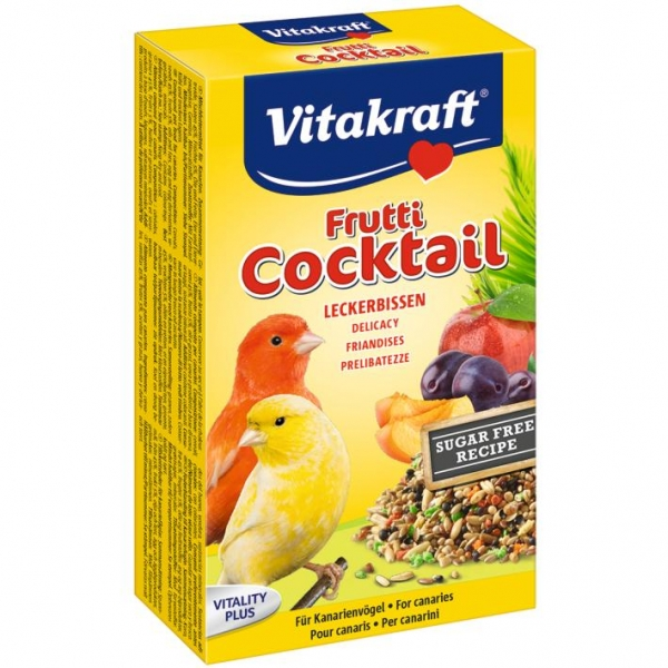 Vitakraft Canary Frutti Cocktail 200gm