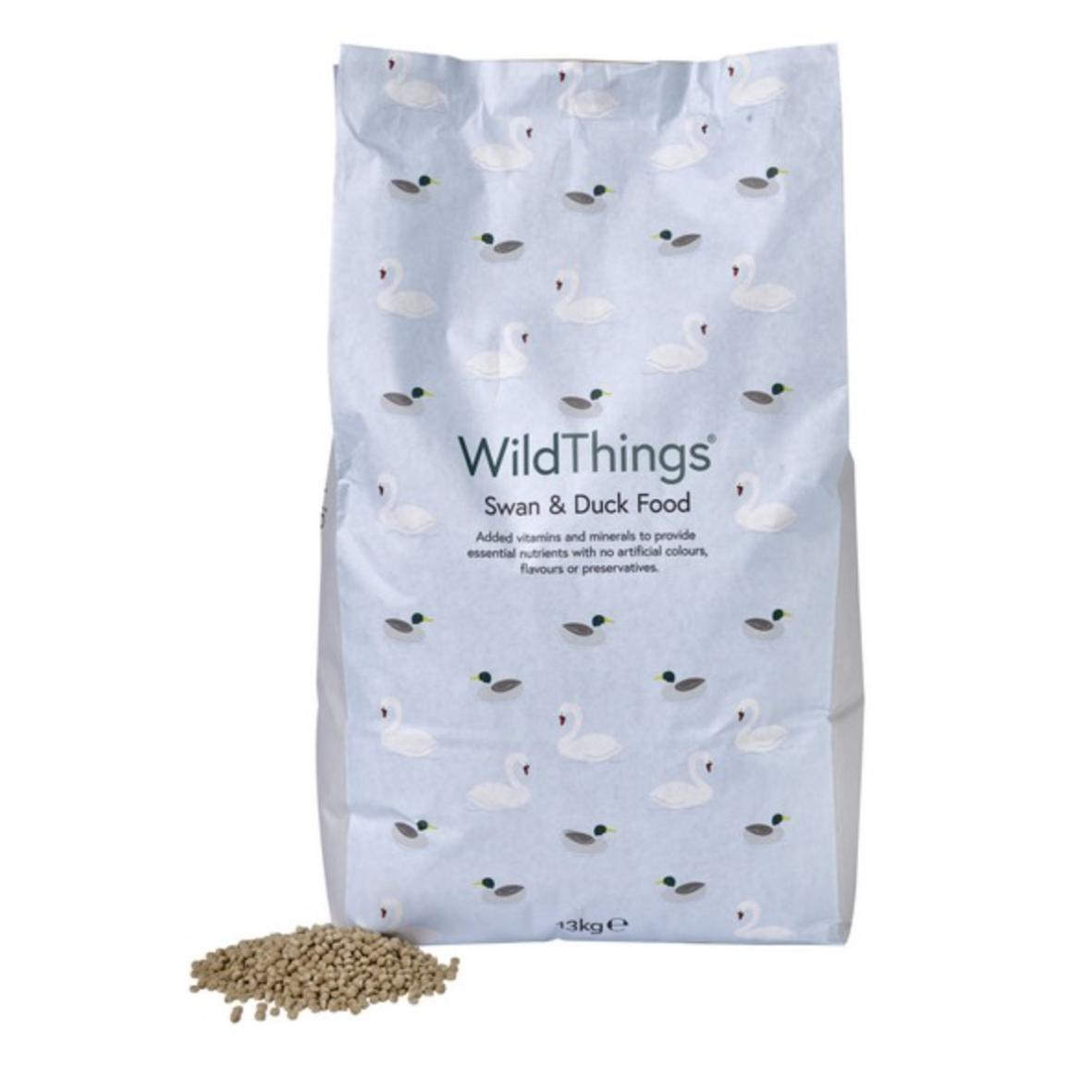 (D) Wild Things Swan and Duck Food 1.5kg
