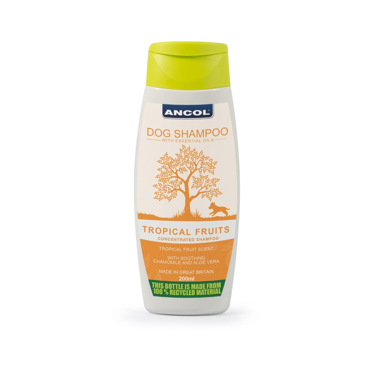CLEARANCE ANCOL Tropical Fruits Dog Shampoo 200ml