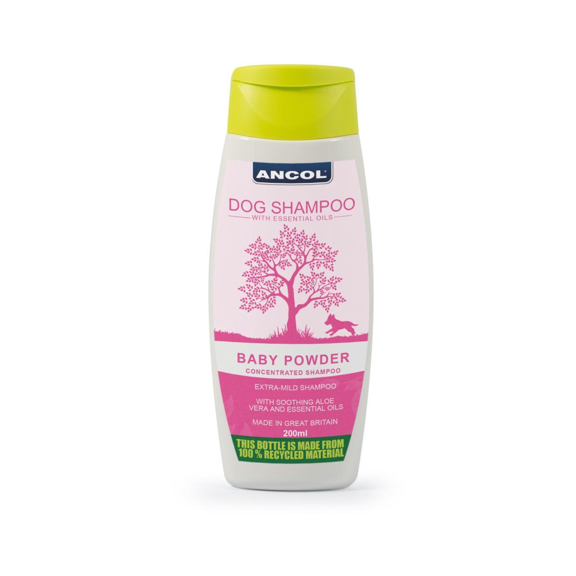 ANCOL Baby Powder Dog Shampoo BB 200ml