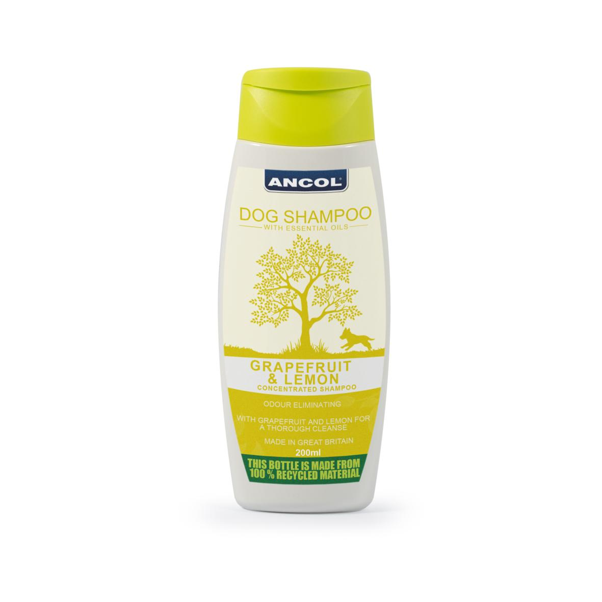 CLEARANCE ANCOL Grapefruit & Lemon Dog Shampoo 200ml