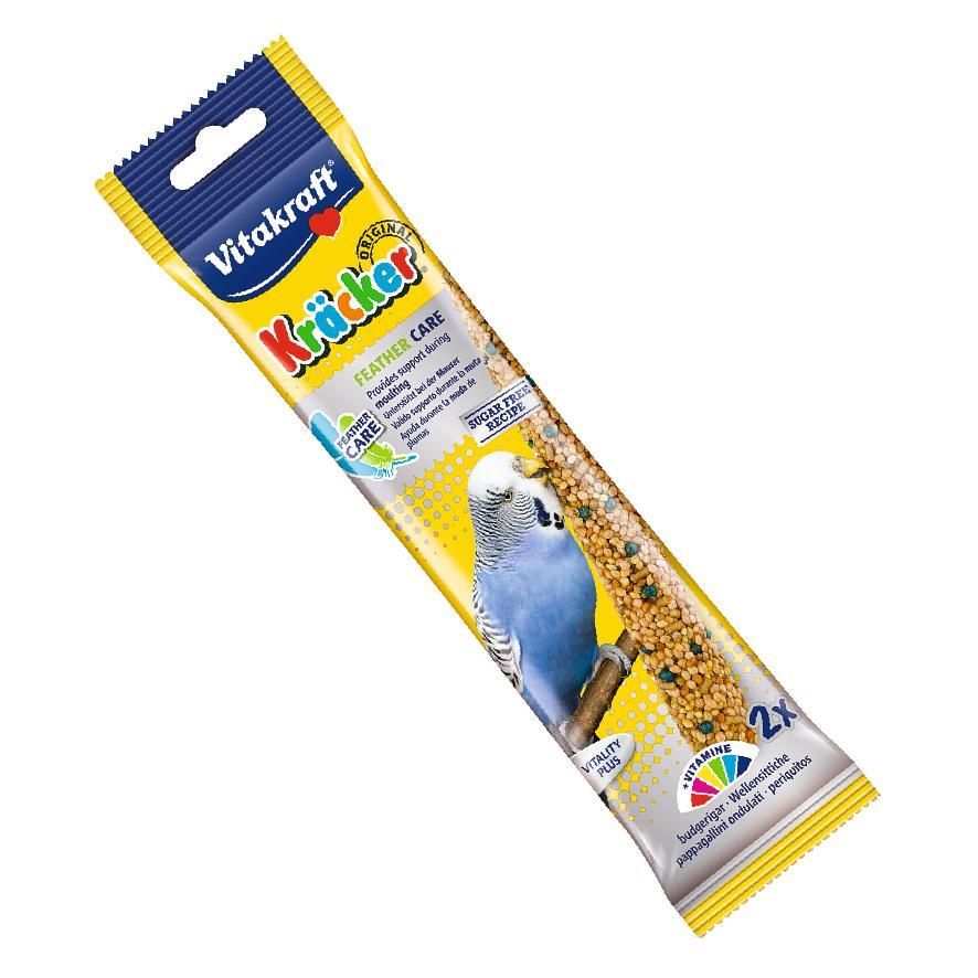 Vitakraft Budgie Kracker Sticks Feather Care 2pcs