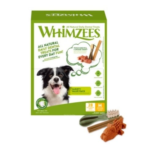 WHIMZEES Variety Value Pack Medium 28pcs