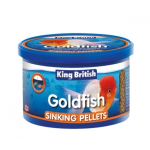 King British Goldfish Sinking Pellets 140gm