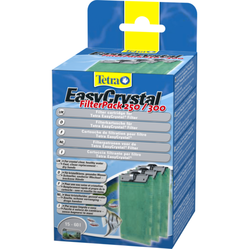 Tetra East Crystal Filter Pack