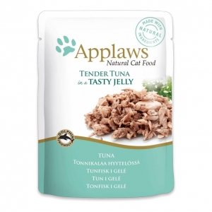 Applaws Pouches Tuna in Jelly for Cats 16 x 70gm