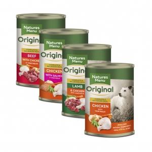 Natures Menu Original Cans Multipack 12 x 400gm (Wheat Free)