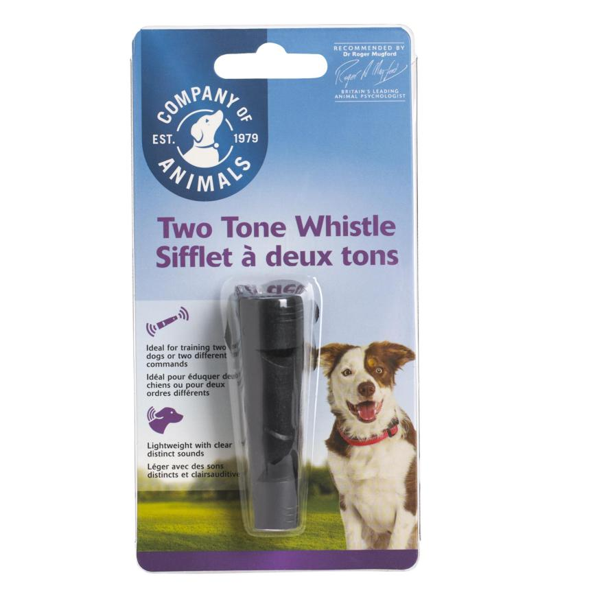 CLEARANCE Company of Animals Two Tone Whistle