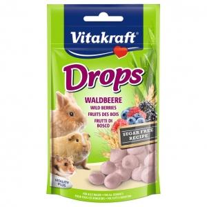 Vitakraft Wild Berry Drops 75gm