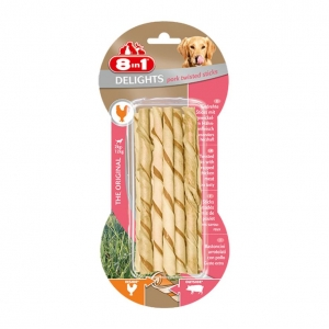 8 in 1 Delights Twisted Sticks Pork 10pcs