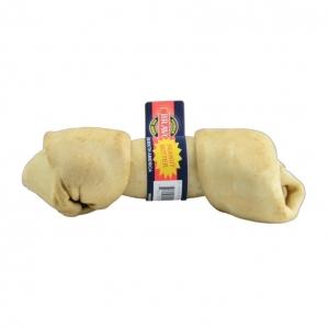 Bravo Rawhide Knotted bone Peanut Butter 15-17cm