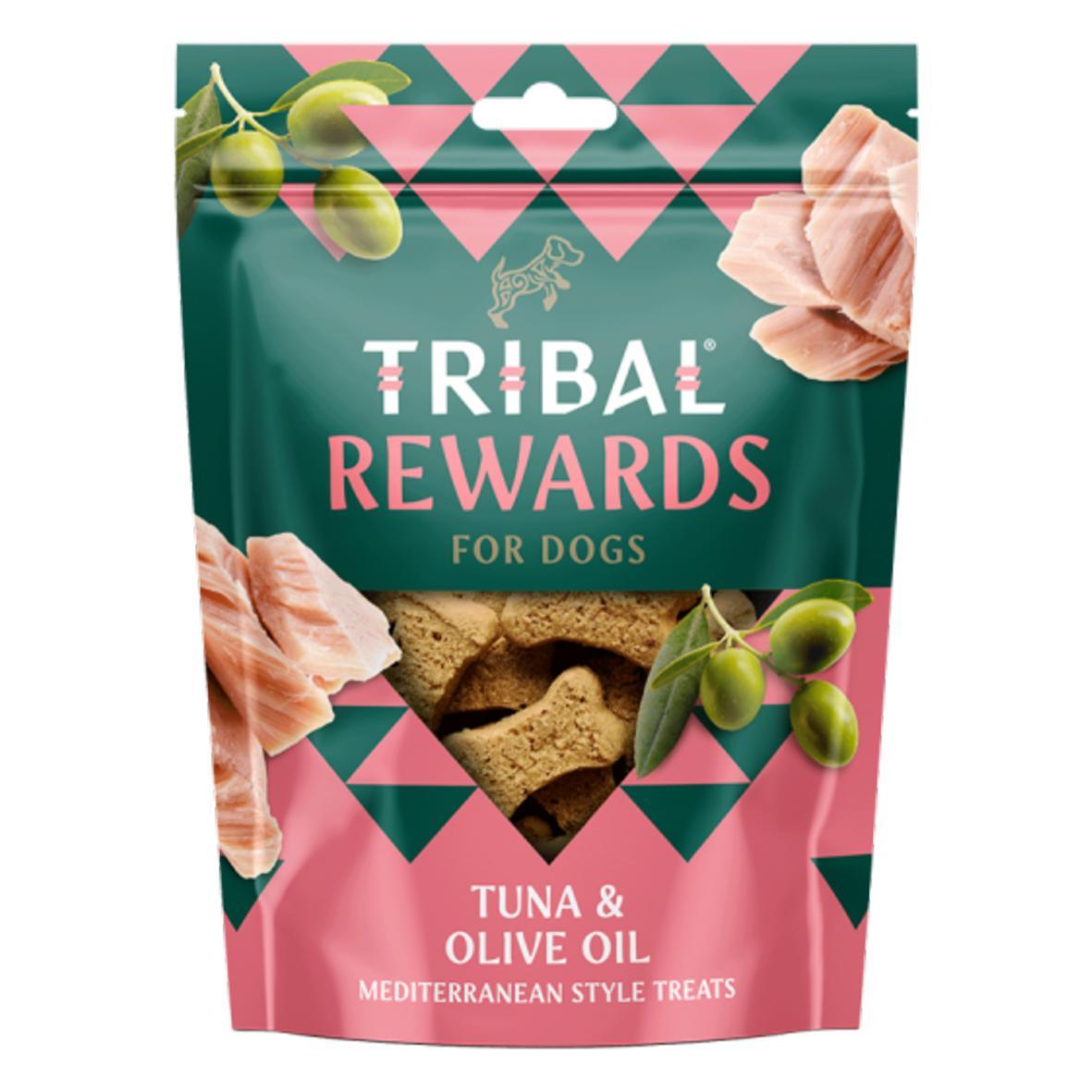 CLEARANCE Tribal Rewards Tuna & Olive Oil 130gm