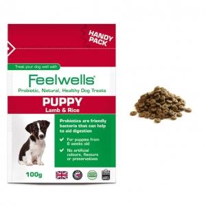 Feelwells Probiotic Puppy Treats Handy Pack 100gm