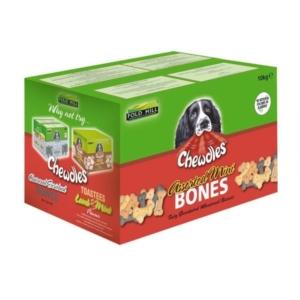 Chewdles Assorted Mini Bones 10kg