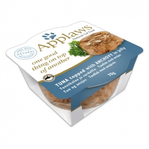 Applaws Layers Tuna with Anchovy in Jelly for Cats 12 x 70gm