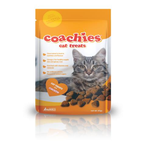 Coachies Cat Treats Chicken 65gm