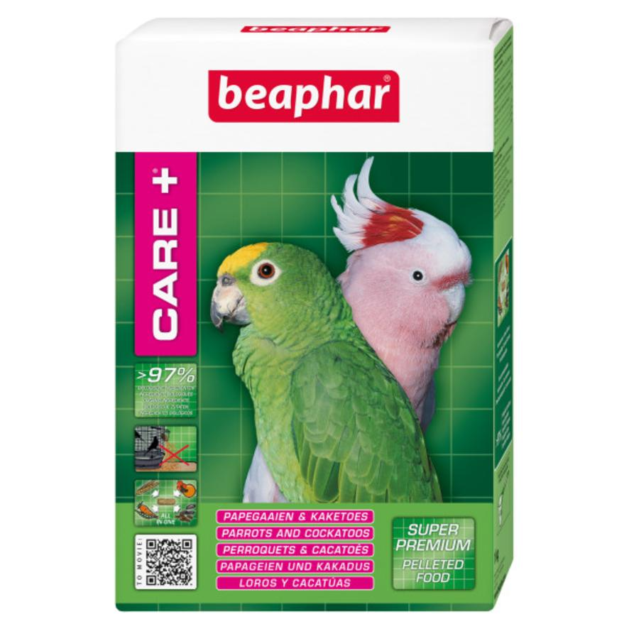 CLEARANCE BEAPHAR Care + Parrot and Cockatoo Food 1kg