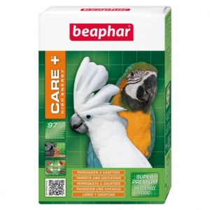 Beaphar Care + High Energy Food for Parrots and Cockatoos 1kg