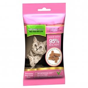 Natures Menu 95% Meat Cat Treats Chicken & Liver