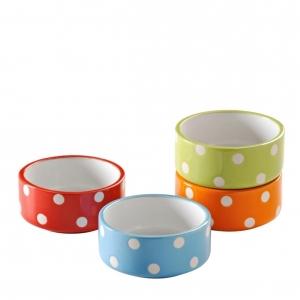 Mason Cash Polka Dot Mini Pet Bowl