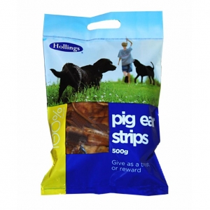 Hollings Pig Ear Strips 500gm