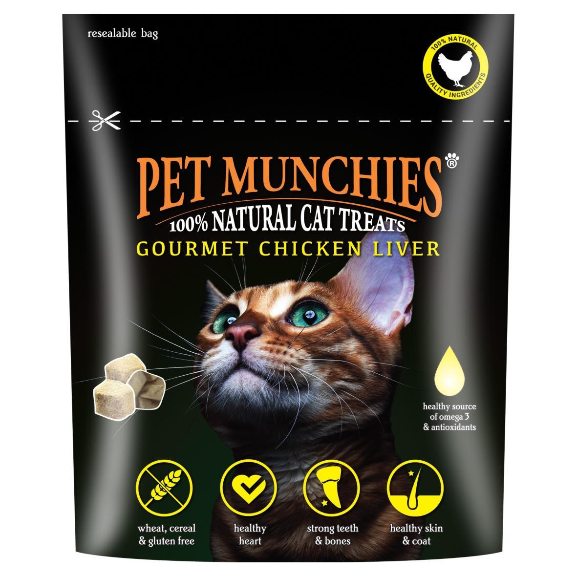 CLEARANCE Pet Munchies Cat Treats Chicken Liver 10g