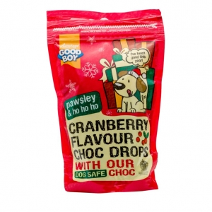 Good Boy Pawsley Cranberry Flavoured Choc Drops 200gm