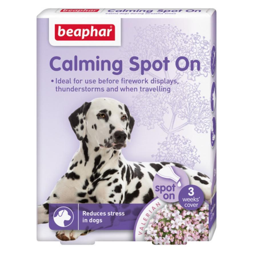 BEAPHAR Calming Spot On for Dogs 3pk