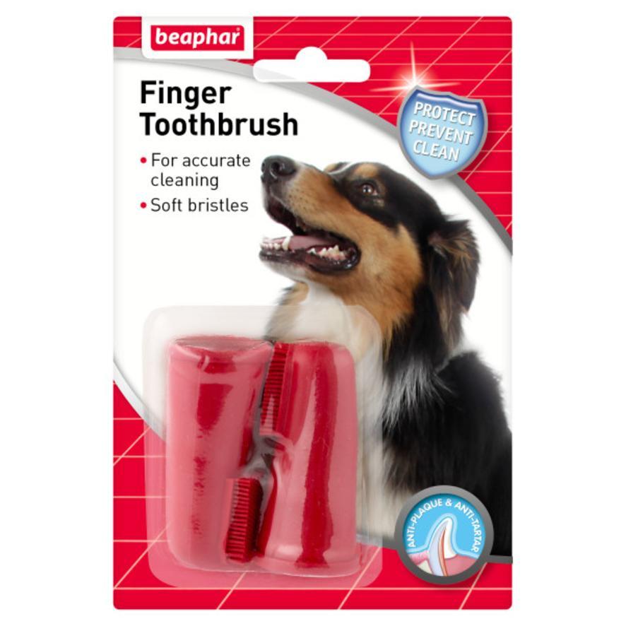 BEAPHAR Finger Toothbrush 2pk