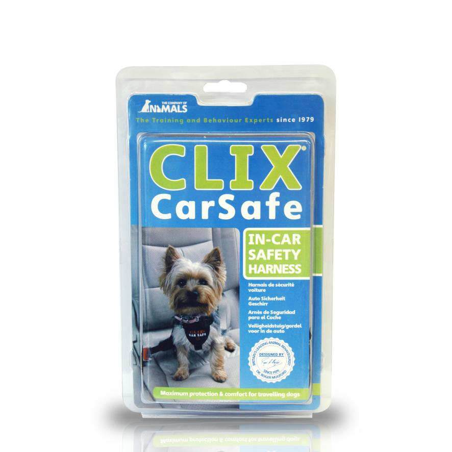 CLEARANCE Company of Animals CLIX CarSafe Harness XS