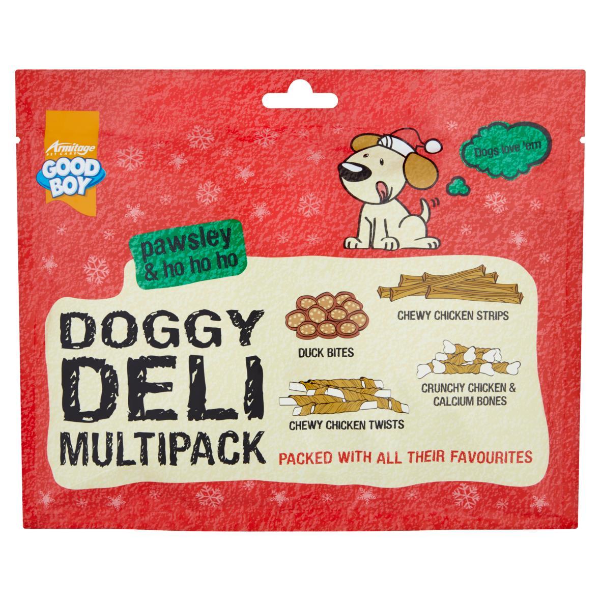 Good Boy Doggy Deli Multipack 166gm
