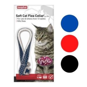 (D) BEAPHAR Cat Flea Collar Sparkle 30cm