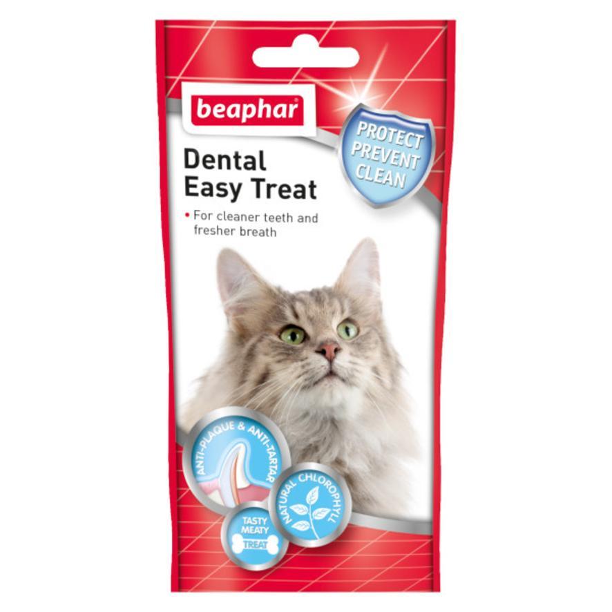 BEAPHAR Dental Easy Treats for Cats 35gm