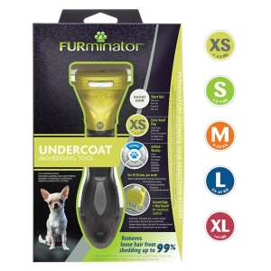 FURminator DeShedding Tool for Short Haired Dogs (All sizes)