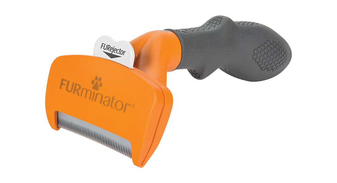 Furminator Deshedding Tool For Short Haired Dogs Five Sizes Purely Pet Supplies Ltd
