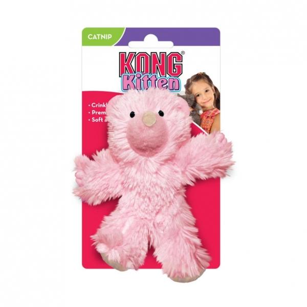 KONG Kitten Teddy Bear with Catnip