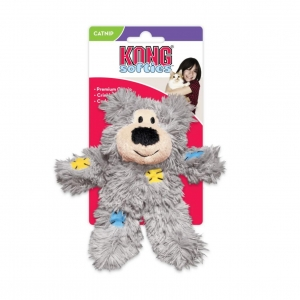 KONG Softies Patchwork Bear
