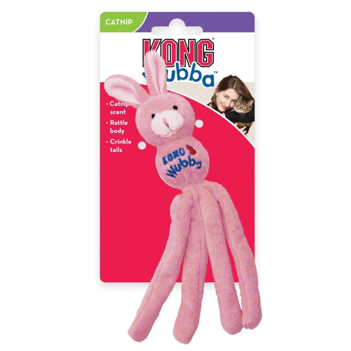 KONG Wubba Bunny with Catnip 24cm