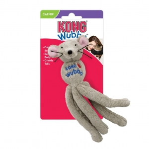 KONG Wubba Mouse with Catnip