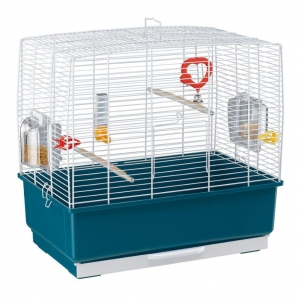 Ferplast Rekord 3 Bird Cage White